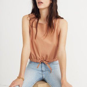 NWT Madewell Square-Neck Bubble Top XXS